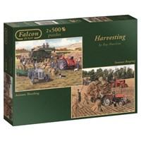 """Falcon (11124) - """"Harvesting"""" - 500 pieces puzzle"""