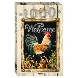 """Step Puzzle (79114) - Dona Gelsinger: """"Rooster"""" - 1000 pieces puzzle"""