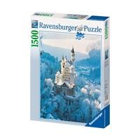 """Ravensburger (16219) - """"Neuschwanstein Castle in Winter"""" - 1500 pieces puzzle"""