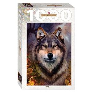 "Step Puzzle (79109) - Bente Schlick: ""Wolf"" - 1000 pieces puzzle"