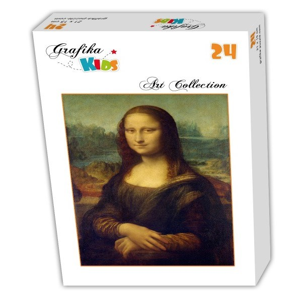 """Grafika (00060) - Leonardo Da Vinci: """"Leonardo da Vinci 1503-1506"""" - 24 pieces puzzle"""