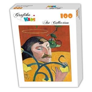 """Grafika Kids (01298) - Paul Gauguin: """"Self-Portrait, 1889"""" - 100 pieces puzzle"""