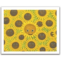 """Pintoo (H1053) - """"Bears with sunflowers"""" - 500 pieces puzzle"""