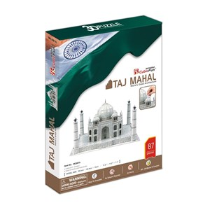 "Cubic Fun (MC081H) - ""Taj Mahal"" - 87 pieces puzzle"