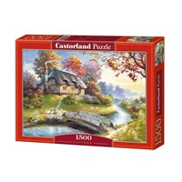 """Castorland (C-150359) - """"Cottage"""" - 1500 pieces puzzle"""