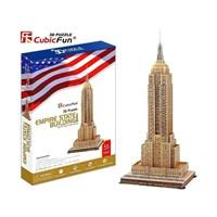 "Cubic Fun (MC048H) - ""Empire State Building"" - 55 pieces puzzle"