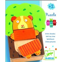 "Djeco (01681) - ""Cuddly Tree"" - 15 pieces puzzle"