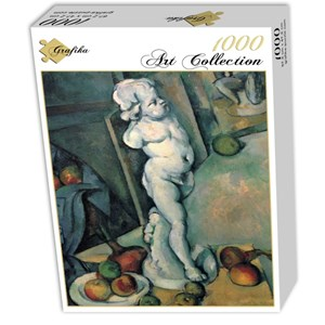 """Grafika (01292) - Paul Cezanne: """"Still Life with Plaster Cupid, 1895"""" - 1000 pieces puzzle"""