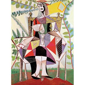 "Puzzle Michele Wilson (A920-150) - Pablo Picasso: ""Woman in the Garden"" - 150 pieces puzzle"