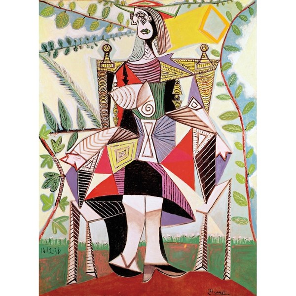 """Puzzle Michele Wilson (A920-150) - Pablo Picasso: """"Woman in the Garden"""" - 150 pieces puzzle"""