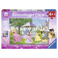 "Ravensburger (08865) - ""Magical Princesses"" - 24 pieces puzzle"