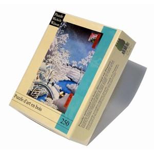 "Puzzle Michele Wilson (A566-250) - Utagawa (Ando) Hiroshige: ""Merugo Bridge"" - 250 pieces puzzle"