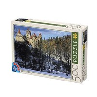 "D-Toys (63052-RM05) - ""Romania, Bran Castle"" - 500 pieces puzzle"