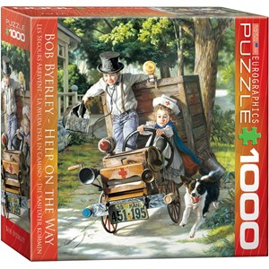 """Eurographics (8000-0439) - Bob Byerley: """"Help on The Way"""" - 1000 pieces puzzle"""