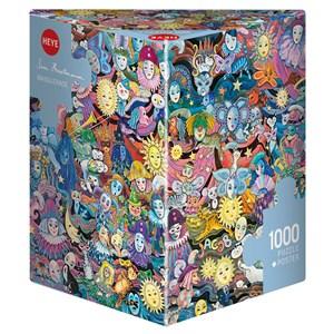 "Heye (29789) - Hartmann: ""Masquerade"" - 1000 pieces puzzle"