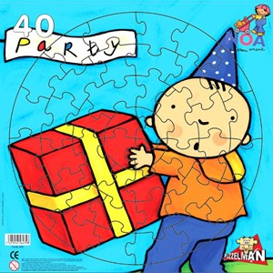 """PuzzelMan (435) - """"The gift"""" - 40 pieces puzzle"""