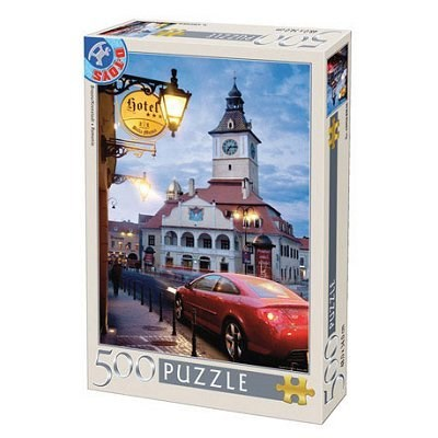 """D-Toys (50328-AB11) - """"Leaning Tower of Pisa, Italy"""" - 500 pieces puzzle"""