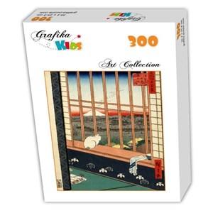 "Grafika Kids (00269) - Utagawa (Ando) Hiroshige: ""Utagawa Hiroshige"" - 300 pieces puzzle"