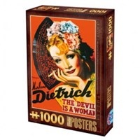 """D-Toys (67555-VP10) - """"Marlene Dietrich, The Devil is a Woman"""" - 1000 pieces puzzle"""