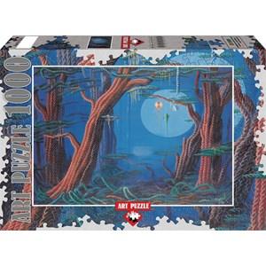 "Art Puzzle (61020) - Ahmet Yesil: ""My Childhood"" - 1000 pieces puzzle"