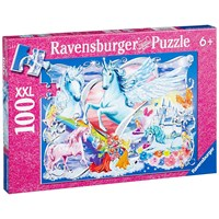 "Ravensburger (13928) - ""In the Fairies Wonderland"" - 100 pieces puzzle"