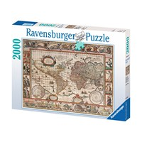 """Ravensburger (16633) - """"Ancient World Map"""" - 2000 pieces puzzle"""