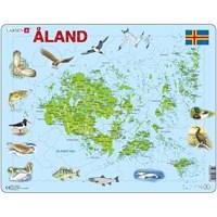 """Larsen (A12) - """"Åland Islands"""" - 61 pieces puzzle"""