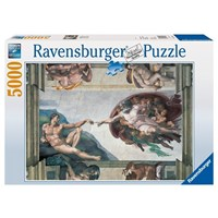 "Ravensburger (17408) - Michelangelo: ""The Creation of Adam"" - 5000 pieces puzzle"