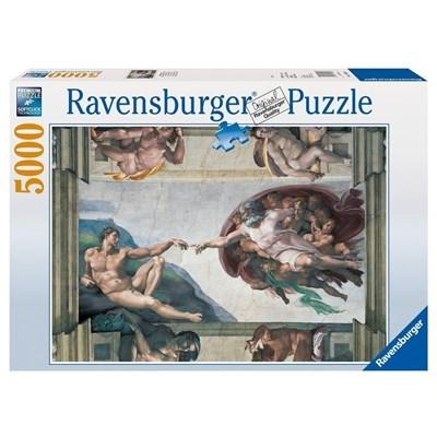 "Ravensburger (17408) - Michelangelo: ""The Creation of Adam"" - 5000 pieces puzzle"