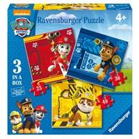 """Ravensburger (07057) - """"Paw Patrol"""" - 25 36 49 pieces puzzle"""