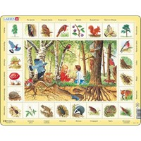"Larsen (NA4-FR) - ""Forest (in French)"" - 48 pieces puzzle"