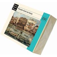 """Puzzle Michele Wilson (A352-250) - Francesco Guardi: """"Regattas on the Canal"""" - 250 pieces puzzle"""