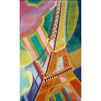 """Puzzle Michele Wilson (A276-150) - Robert Delaunay: """"Eiffel Tower"""" - 150 pieces puzzle"""