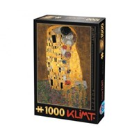 "D-Toys (66923-KL01) - Gustav Klimt: ""The Kiss"" - 1000 pieces puzzle"