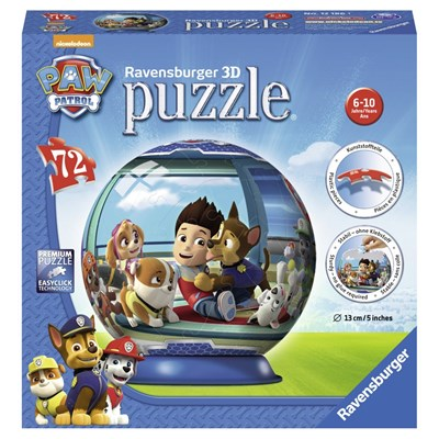 """Ravensburger (12186) - """"Paw Patrol"""" - 72 pieces puzzle"""