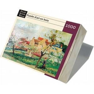 "Puzzle Michele Wilson (A984-1000) - Camille Pissarro: ""Plum Trees in Blossom"" - 1000 pieces puzzle"