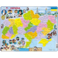 """Larsen (K62-UA) - """"Ukraine - UA"""" - 82 pieces puzzle"""