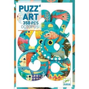 """Djeco (07651) - """"Octopus"""" - 350 pieces puzzle"""