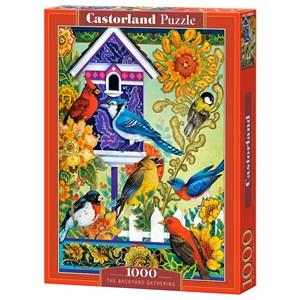 "Castorland (C-104000) - David Galchutt: ""The Backyard Gathering"" - 1000 pieces puzzle"