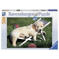 """Ravensburger (14179) - """"Golden Retriever"""" - 500 pieces puzzle"""