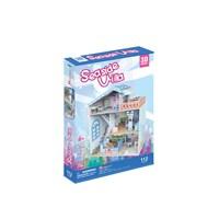 "Cubic Fun (P683h) - ""Seaside Village"" - 112 pieces puzzle"