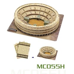 "Cubic Fun (MC055H) - ""Italy, Rome, The Coliseum"" - 84 pieces puzzle"