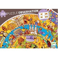 "Djeco (07470) - ""History"" - 350 pieces puzzle"