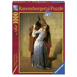 "Ravensburger (15405) - Francesco Hayez: ""The Kiss"" - 1000 pieces puzzle"