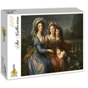 """Grafika (02171) - Élisabeth Vigée Le Brun: """"The Marquise de Pezay, and the Marquise de Rougé with Her Sons Alexi"""" - 300 pieces puzzle"""