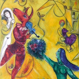 """Puzzle Michele Wilson (Z64) - Marc Chagall: """"Marc Chagall"""" - 30 pieces puzzle"""