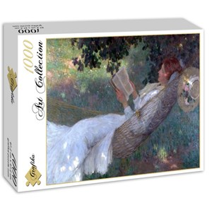"Grafika (00259) - E. Phillips Fox: ""A Love Story, 1903"" - 1000 pieces puzzle"