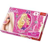"""Trefl (14604) - """"Barbie Puzzle Magic Decor"""" - 15 pieces puzzle"""