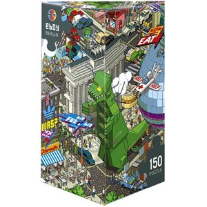 "Heye (29480) - eBoy: ""Berlin"" - 150 pieces puzzle"