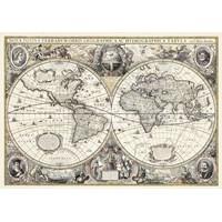 """Ravensburger (19931) - """"Antique World Map"""" - 1200 pieces puzzle"""